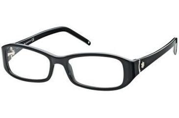Montblanc MB0351 Eyeglass Frames - Black Frame Color