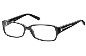 Montblanc MB0380 Eyeglass Frames - Shiny Black Frame Color