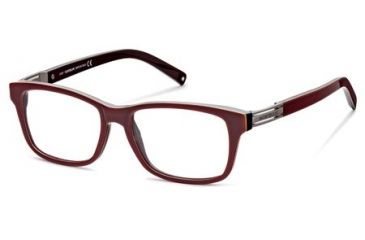 Montblanc MB0383 Eyeglass Frames - Dark Brown Frame Color