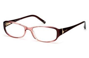 Montblanc MB0393 Eyeglass Frames - Shiny Pink Frame Color