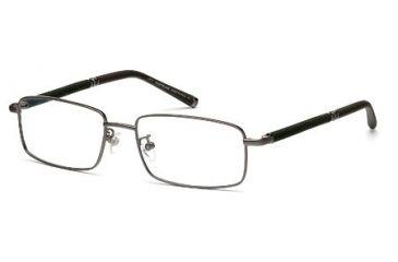 Montblanc MB0396 Eyeglass Frames - Shiny Dark Ruthenium Frame Color