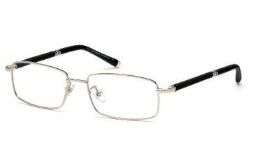 Montblanc MB0396 Eyeglass Frames - Shiny Palladium Frame Color