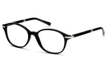 Montblanc MB0400 Eyeglass Frames - Shiny Black Frame Color
