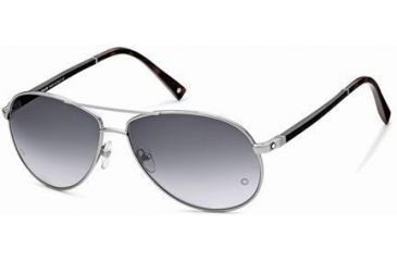 Montblanc MB325S Sunglasses - Shiny Light Ruthenium Frame Color