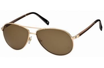 Montblanc MB325S Sunglasses - Gold Frame Color