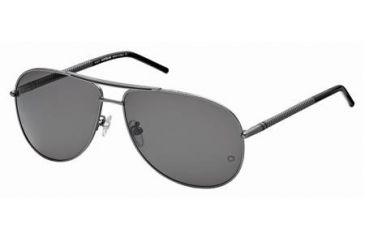 Mont Blanc MB361S Sunglasses - Shiny Dark Ruthenium Frame Color