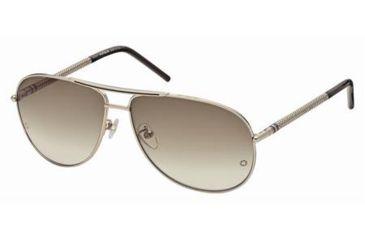Mont Blanc MB361S Sunglasses - Shiny Rose Gold Frame Color