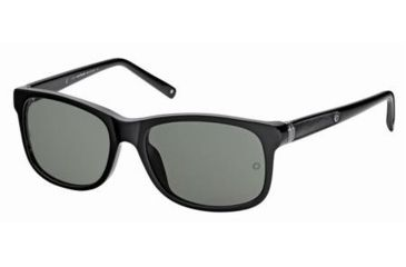 Montblanc MB365S Sunglasses - Shiny Black Frame Color