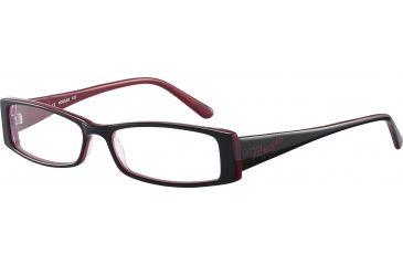 Morgan 201033 Progressive Prescription Eyeglasses - Black Frame and Clear Lens 201033-8598PR