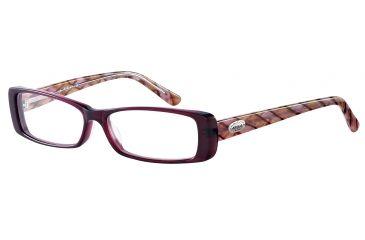 Morgan 201048 Bifocal Prescription Eyeglasses - Violet Frame and Clear Lens 201048-6380BI