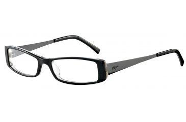 Morgan 201051 Progressive Prescription Eyeglasses - Black Frame and Clear Lens 201051-6423PR