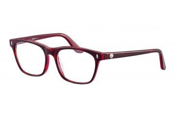Morgan 201054 Bifocal Prescription Eyeglasses - Brown Frame and Clear Lens 201054-6484BI