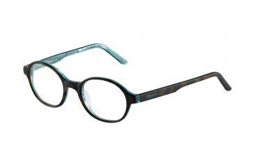 Morgan 201057 Bifocal Prescription Eyeglasses - Brown Frame and Clear Lens 201057-6503BI