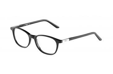 Morgan 201060 Progressive Prescription Eyeglasses - Black Frame and Clear Lens 201060-8840PR