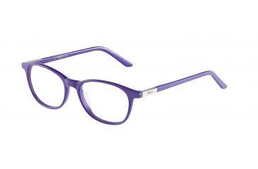 Morgan 201060 Progressive Prescription Eyeglasses - Blue Frame and Clear Lens 201060-6546PR