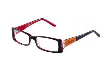 Morgan 201065 Single Vision Prescription Eyeglasses - Anthracite Frame and Clear Lens 201065-6555SV