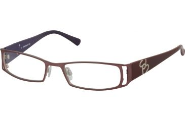 Morgan No. 203072 Eyeglasses - Brown Frame and Clear Lens 203072-243