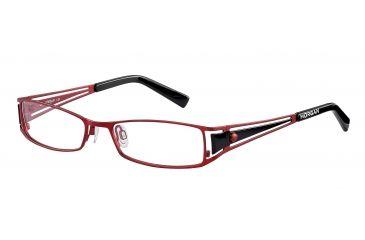 Morgan 203075 Progressive Prescription Eyeglasses - Red Frame and Clear Lens 203075-210PR
