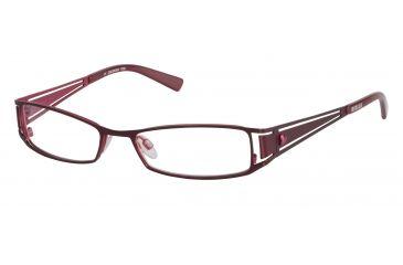 Morgan 203075 Progressive Prescription Eyeglasses - Violet Frame and Clear Lens 203075-261PR