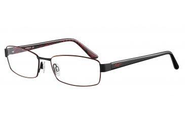 Morgan 203120 Single Vision Prescription Eyeglasses - Red Frame and Clear Lens 203120-424SV