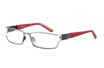 Morgan 203122 Progressive Prescription Eyeglasses - Grey Frame and Clear Lens 203122-427PR