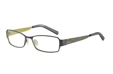 Morgan 203123 Progressive Prescription Eyeglasses - Grey Frame and Clear Lens 203123-434PR