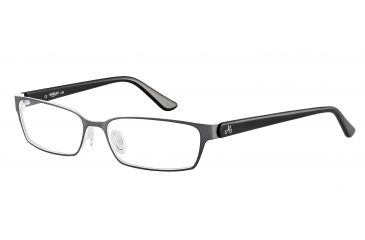 Morgan 203125 Single Vision Prescription Eyeglasses - Grey Frame and Clear Lens 203125-432SV