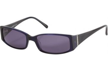 Morgan 207114 Single Vision Prescription Sunglasses - Blue Frame and Grey Lens 207114-6158SV