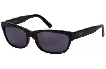 Morgan No. 207124 Sunglasses - Black Frame and Grey Lens 207124-8840