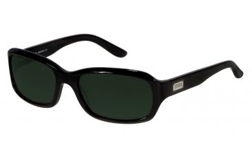 Morgan 207129 Single Vision Prescription Sunglasses - Black Frame and Grey Green Lens 207129-610SV