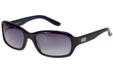 Morgan 207129 Single Vision Prescription Sunglasses - Violet Frame and Grey Blue Gradient Lens 207129-350SV