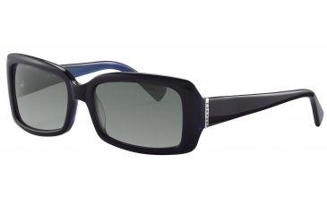 Morgan 207132 Single Vision Prescription Sunglasses - Violet Frame and Grey Gradient Lens 207132-6355SV