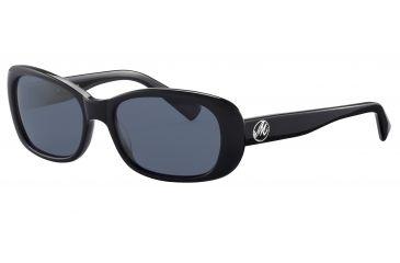 Morgan No. 207133 Sunglasses - Black Frame and Grey Lens 207133-8840