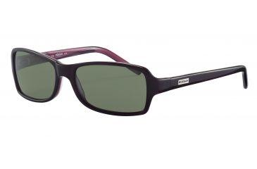 Morgan 207134 Bifocal Prescription Sunglasses - Violet Frame and Green Silver  Lens 207134-6356BI