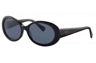 Morgan 207136 Bifocal Prescription Sunglasses - Black Frame and Grey Lens 207136-8840BI
