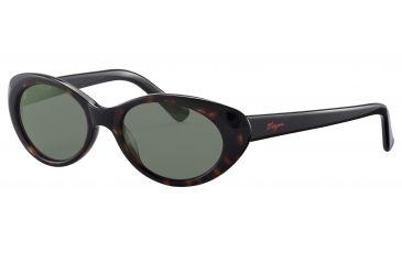 Morgan No. 207137 Sunglasses - Brown Frame and Grey Green Lens 207137-8940