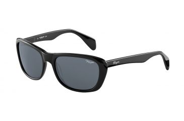 Morgan 207141 Single Vision Prescription Sunglasses - Black Frame and Grey Lens 207141-8840SV