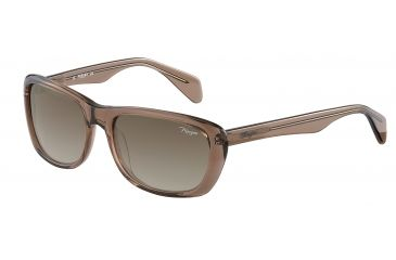 Morgan 207141 Single Vision Prescription Sunglasses - Brown Frame and Brown Gradient Lens 207141-6501SV
