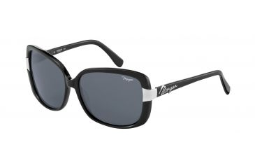 Morgan No. 207142 Sunglasses - Black Frame and Grey Lens 207142-8840