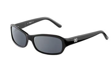 Morgan No. 207149 Sunglasses - Black Frame and Grey Silver Lens 207149-8840