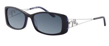 Morgan 207205 Bifocal Prescription Sunglasses - Violet Frame and Grey Blue Gradient Lens 207205-6355BI