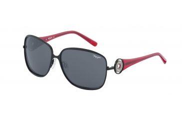 Morgan No. 207338 Sunglasses - Black Frame and Grey Lens 207338-610