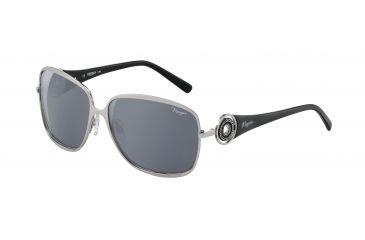 Morgan No. 207338 Sunglasses - Silver Frame and Grey Silver Lens 207338-110