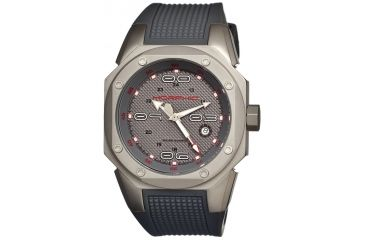 Morphic 1002 M10 Series Mens Watch, Grey Dial w/ Grey Rubber Band, Titanium Grey Case MPH1002