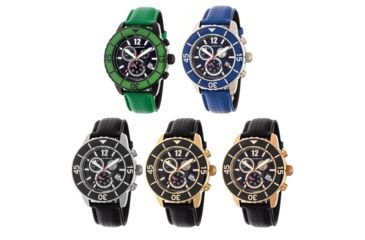 9726d9436 Morphic Morphic M51 Series Swiss Leather Strap Watch | Up to 50% Off ...