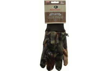 Mossy Oak Mesh Gloves with Grip Palm, Obsession, Small - Medium 044981