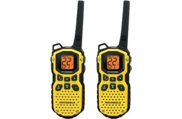 Motorola Talkabout 35 Mile Waterproof Two Way Radio Yellow Ms350r