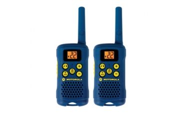 Motorola Talkabout 16 Mile Range, AAA only, 22 channels, blue, Blue MG160A