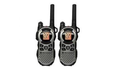 Motorola Talkabout 35 Mile Range, IP54-Weatherproof, High Capacity Batteries, Black/Grey MT352R
