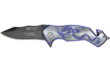 Mtech Dragon Strike Rescue Knife, 4.75in. Closed MT759GY